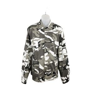 Tactical Camo Jacket Gray White Rothco Ultra Force